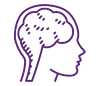 picto violet cerveau plasticité cérébrale stimulation cognitive des personnes âgées