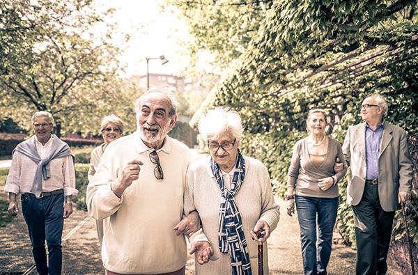 Vieillissement en France et personnes âgées